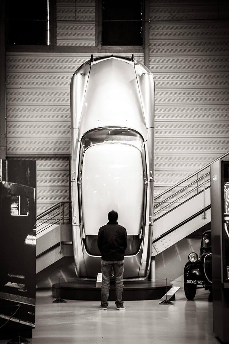 DS Fusée à découvrir au Musée des 24 Heures du Mans, visite libre en famille ou entre amis
